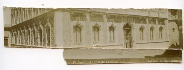 Sin número - Toledo. Fachada del Hotel de Castilla [fragmento]