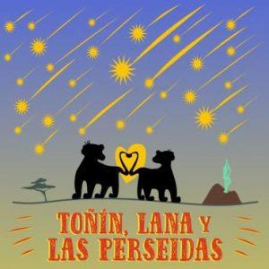 """Presentación del libro """"Toñin, Nala y las Perseidas """""""