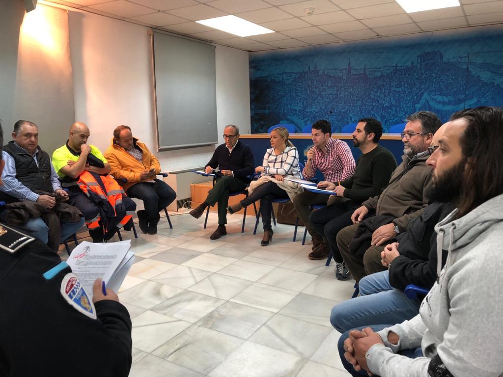 El Ayuntamiento prepara con los servicios técnicos y las fuerzas de seguridad la llegada de los Magos de Oriente a Toledo