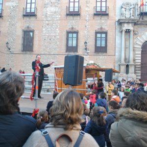 Continúan las actividades programadas para esta Navidad por el Ayuntamiento con un espectáculo de magia