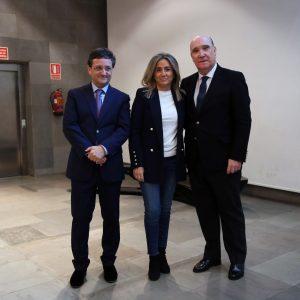 La alcaldesa felicita al Grupo San Román, galardonado con el X Premio Familia Empresaria de Castilla-La Mancha