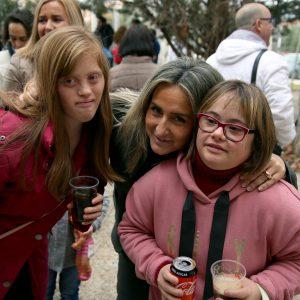 ilagros Tolón participa en las migas de Navidad de Down Toledo y agradece su labor por crear una sociedad más justa e igualitaria