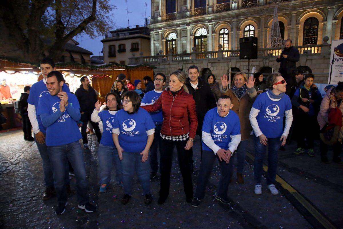 """http://www.toledo.es/wp-content/uploads/2018/12/03_manifiesto_diversitas-1200x800.jpg. La alcaldesa abre el Festival Diversitas proclamando la diversidad """"como valor fundamental en una sociedad moderna"""""""