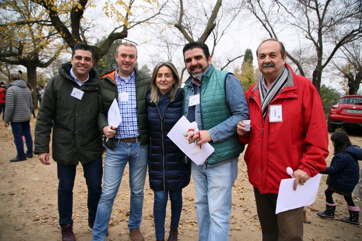 El tradicional Concurso de Migas de Navidad organizado por el Ayuntamiento se celebra con una buena acogida de participantes