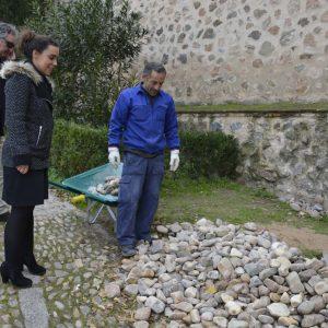 El Ayuntamiento acomete intervenciones en la Puerta de Alfonso VI, la plaza de la Estrella y el entorno de Alcántara