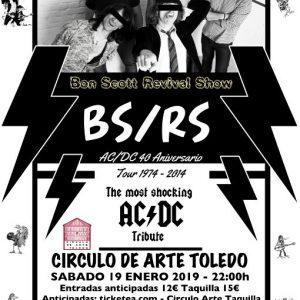 BON SCOTT REVIVAL SHOW. HOMENAJE A AC/DC