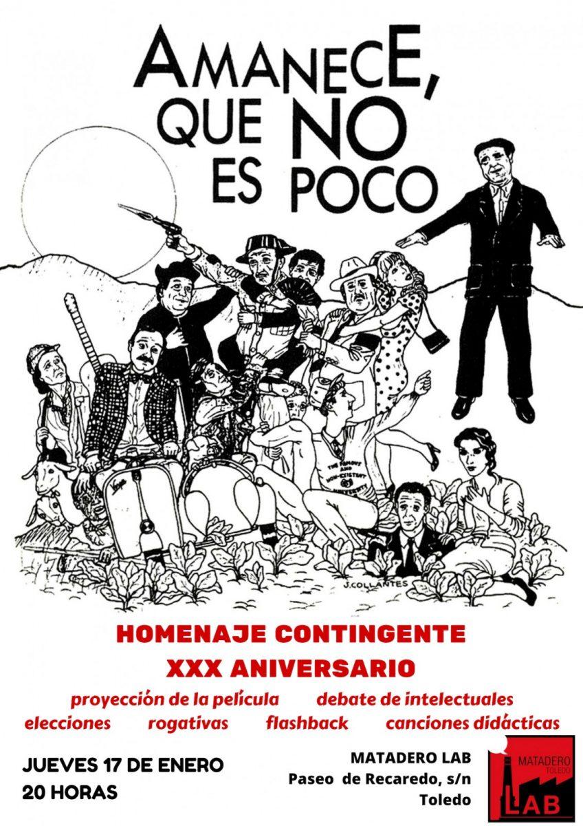 http://www.toledo.es/wp-content/uploads/2018/12/amanece-entrada-libre-848x1200.jpg. XXX Aniversario de AMANECE QUE NO ES POCO