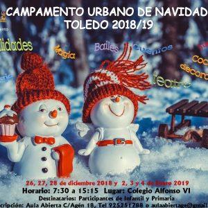 Toledo Educa. Campamento de Navidad 2018/2019