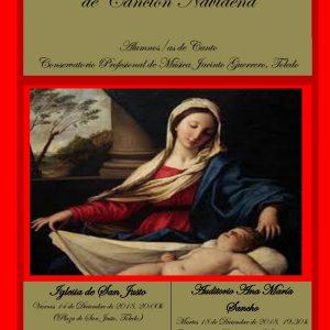 Recital lírico de canción navideña