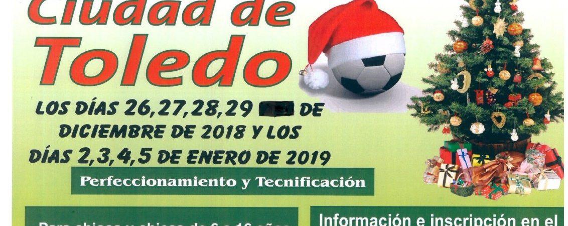 Campus de Navidad de Fútbol Base