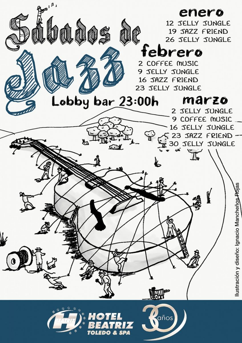 https://www.toledo.es/wp-content/uploads/2018/12/cartel-invierno2019-848x1200.jpg. Sábados de Jazz: Jelly Jungle