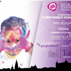 l Ayuntamiento organiza un cuentacuentos gratuito para niños y niñas de entre 5 y 9 años de edad este viernes 14