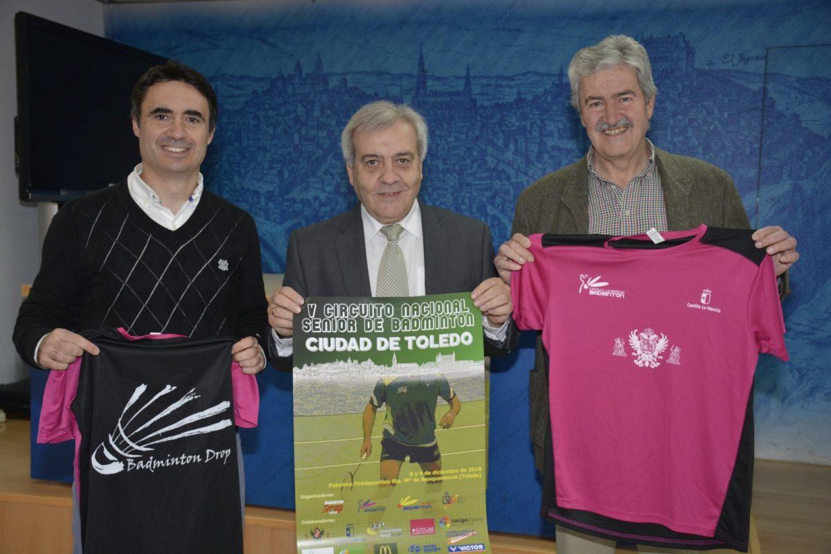 https://www.toledo.es/wp-content/uploads/2018/12/dsc0113-1200x800.jpg. El V Circuito Nacional Senior de Bádminton Ciudad de Toledo bate récord de inscripciones y tendrá lugar este fin de semana