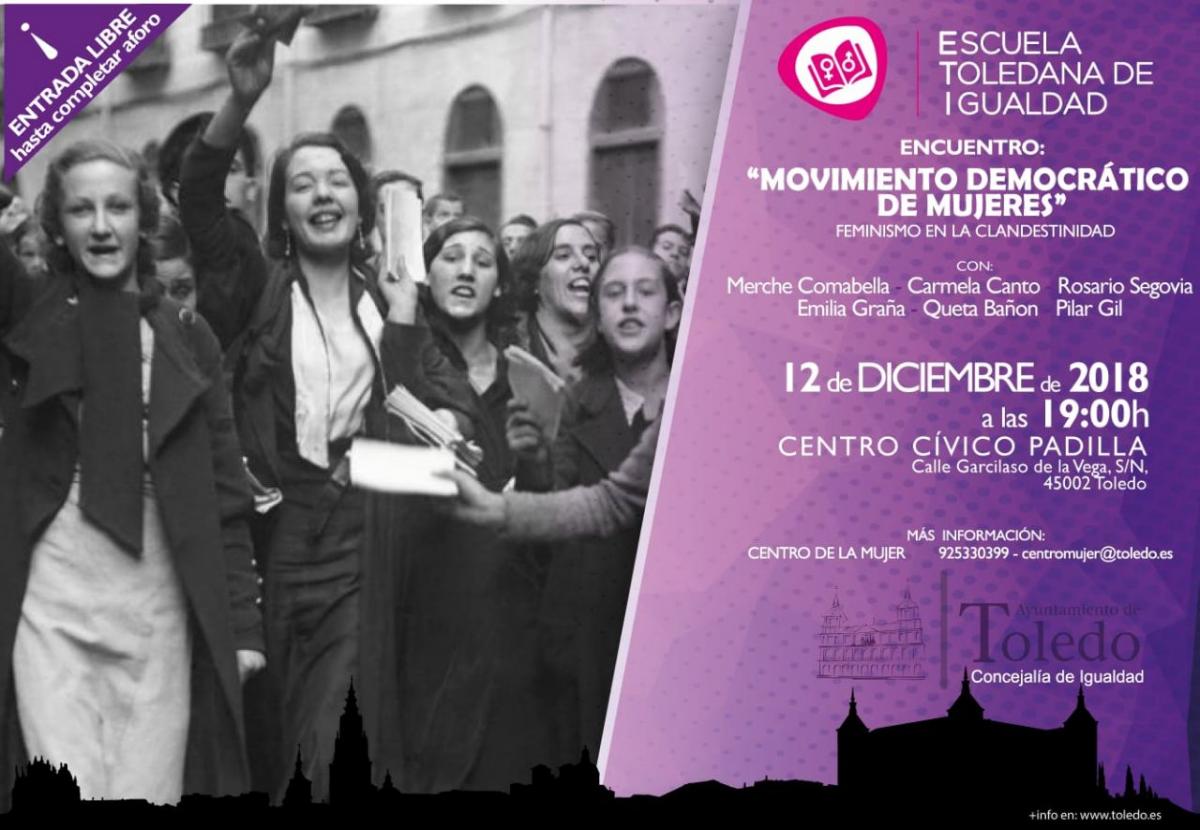 Encuentro con el Movimiento Democrático de Mujeres. Feminismo en la clandestinidad