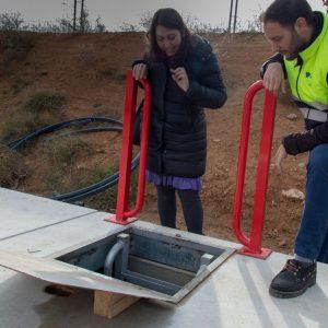 l Ayuntamiento mejora la presión de agua en la zona alta del Polígono con la instalación de un nuevo equipo de impulsión