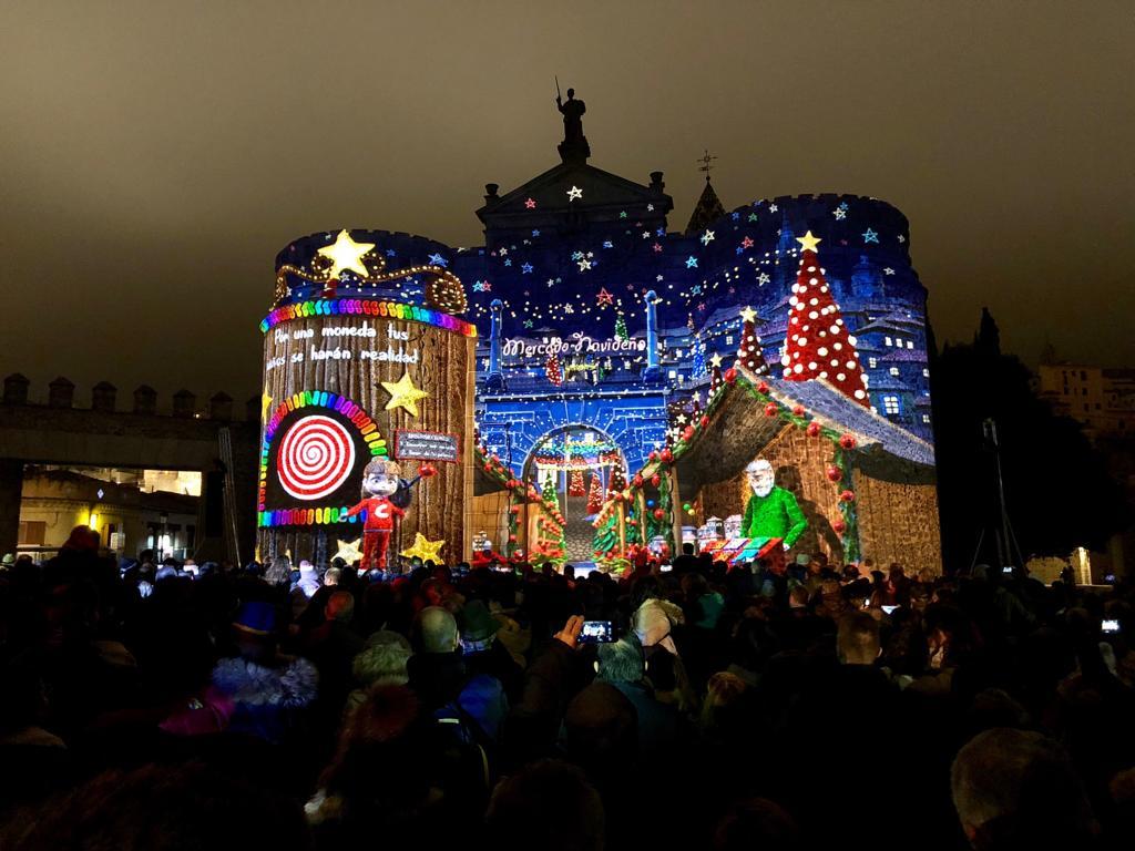 El Gobierno local destaca el tremendo éxito de 'Toledo tiene estrella' que se consolida como un referente en el programa navideño