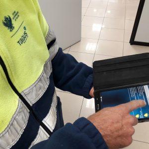 l Servicio de Agua y Saneamiento mejora sus prestaciones con la adquisición de tablets para la gestión de las actuaciones