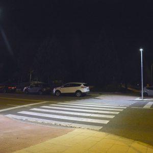 El Ayuntamiento trabaja en la mejora de la iluminación de 17 pasos de cebra para garantizar la seguridad de los viandantes