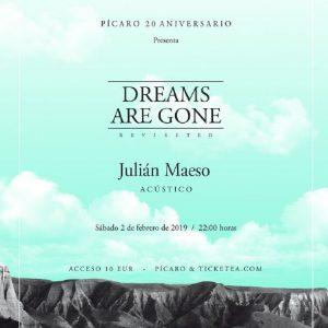 PÍCAROLIVE. 20 AÑOS: JULIAN MAESO
