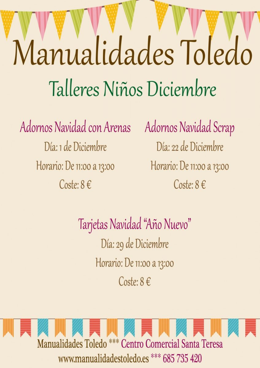 http://www.toledo.es/wp-content/uploads/2018/12/manualidades-santa-teresa-848x1200.jpg. Taller de Manualidades