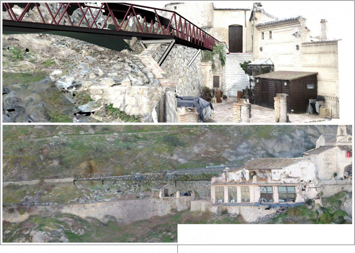 http://www.toledo.es/wp-content/uploads/2018/12/pasarela-valle01-1200x858.jpg. El proyecto para mejorar la accesibilidad de la ermita del Valle estará en información pública hasta el 17 de diciembre