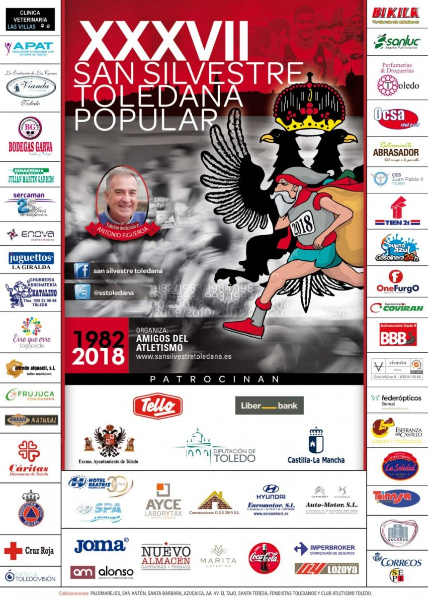 http://www.toledo.es/wp-content/uploads/2018/12/san-silvestre-cartel-2018-001-851x1200.jpg. XXXVII San Silvestre Toledana Popular (8km)
