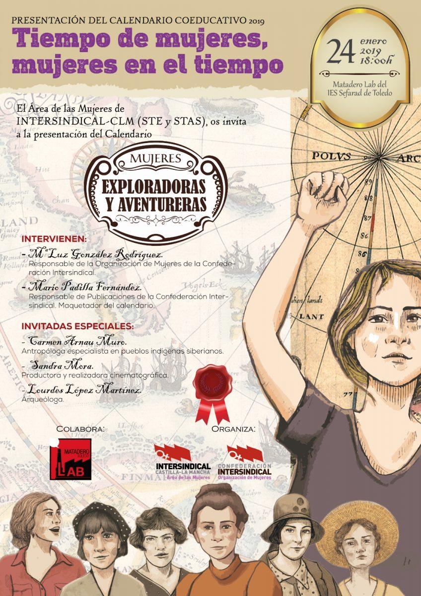 http://www.toledo.es/wp-content/uploads/2018/12/ste-calendario-848x1200.jpg. Presentación Nacional del Calendario coeducativo2 tiempo de mujeres, mujeres en el tiempo