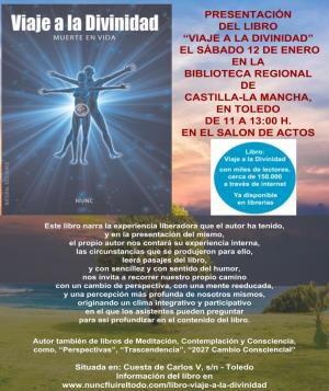 https://www.toledo.es/wp-content/uploads/2018/12/viaje-a-la-divinidad.jpg. PRESENTACIÓN DE LIBRO: Viaje a la Divinidad