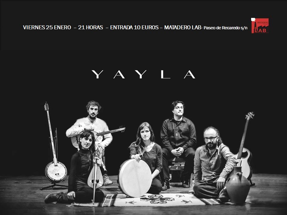 http://www.toledo.es/wp-content/uploads/2018/12/yaila-cartel.jpg. Concierto YAILA