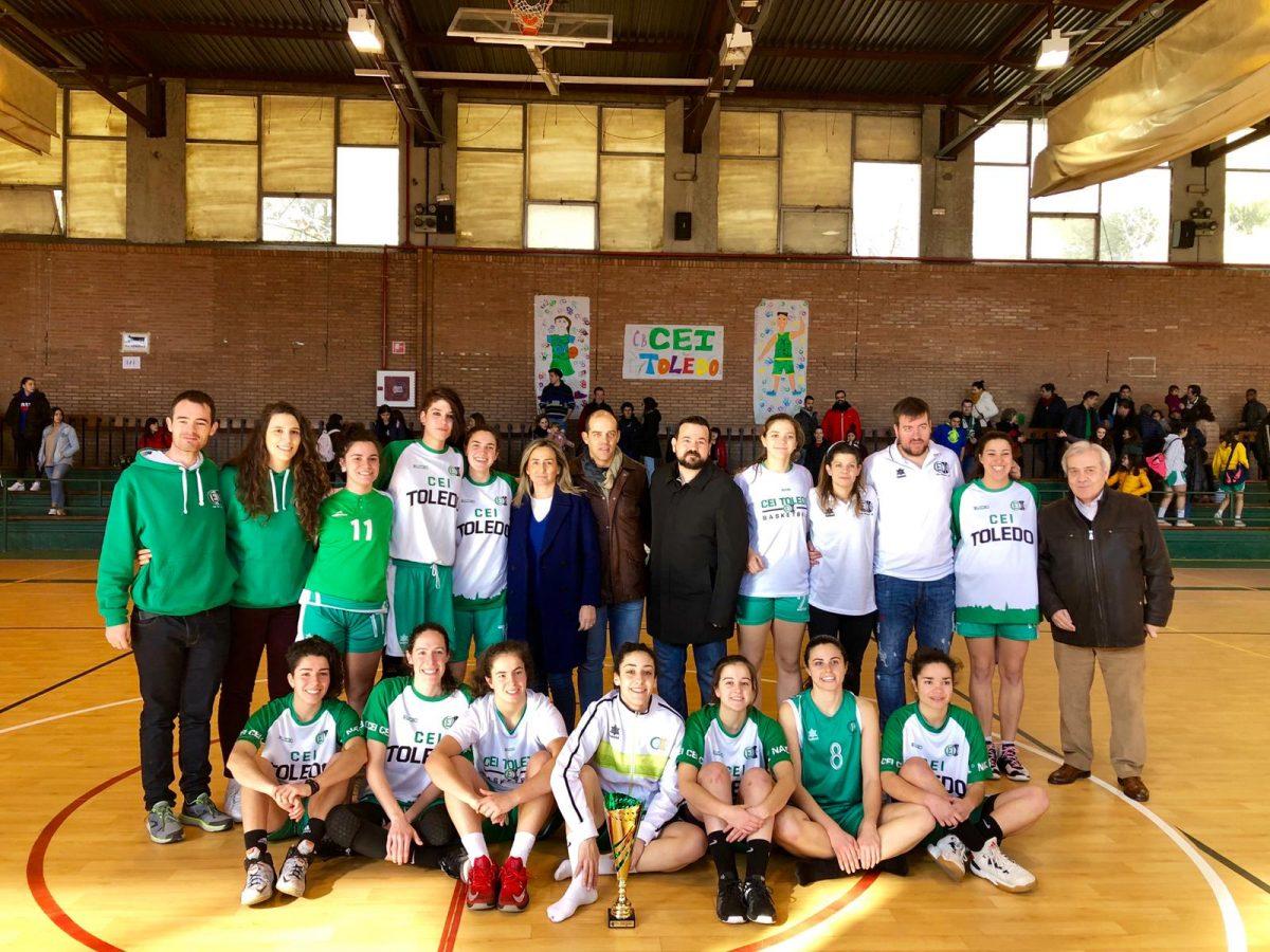 http://www.toledo.es/wp-content/uploads/2019/01/01-cei-toledo-copa-baloncesto-1200x900.jpeg. La alcaldesa felicita a las integrantes del CEI Toledo, subcampeonas de la Copa de Primera Nacional Femenina de Baloncestodisputada en la capital