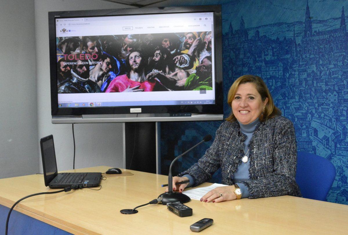 http://www.toledo.es/wp-content/uploads/2019/01/01-rosana-rodriguez-web-turismo-1200x812.jpg. La nueva web municipal de Turismo registra más de un millón de visitas en su primer año en funcionamiento