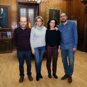 a alcaldesa recibe el agradecimiento de El Paisnal (El Salvador) por el apoyo de Toledo a un proyecto de Escuelas para el Mundo