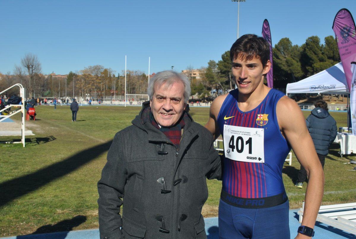 El Ayuntamiento respalda el VII Control de Marcas del Club de Atletismo 'San Ildefonso', inicio de temporada de Lucas Búa