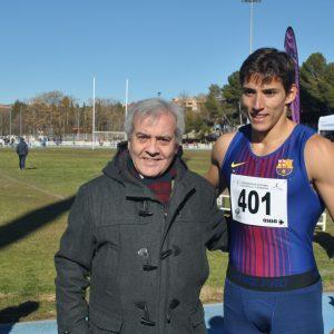l Ayuntamiento respalda el VII Control de Marcas del Club de Atletismo 'San Ildefonso', inicio de temporada de Lucas Búa