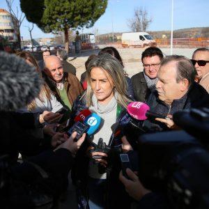 a alcaldesa avanza que los servicios de Urbanismo ultiman ya el anteproyecto para la finalización del bulevar del Paseo de la Rosa