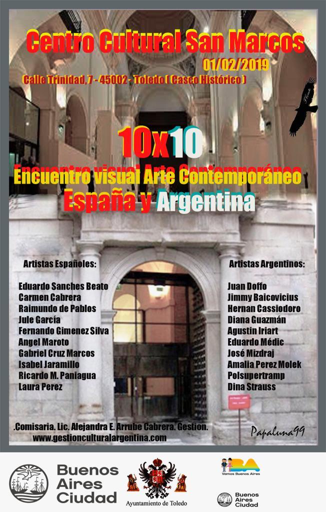 """https://www.toledo.es/wp-content/uploads/2019/01/10-x-10.jpg. Inauguración Exposición """"10 x 10 Encuentro Visual"""""""