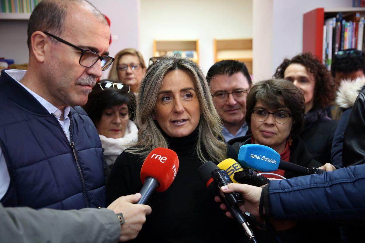 """http://www.toledo.es/wp-content/uploads/2019/01/10_biblioteca_azucaica-1200x800.jpg. Milagros Tolón alza la voz en defensa de Toledo """"esté quien esté en el Gobierno de España"""" exigiendo el fin de la política trasvasista"""