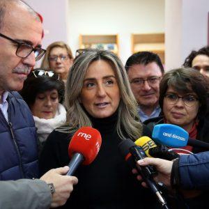 """ilagros Tolón alza la voz en defensa de Toledo """"esté quien esté en el Gobierno de España"""" exigiendo el fin de la política trasvasista"""
