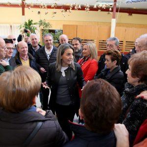 La alcaldesa anuncia la ampliación del Centro de Mayores del Polígono duplicando el espacio para talleres y actividades de ocio