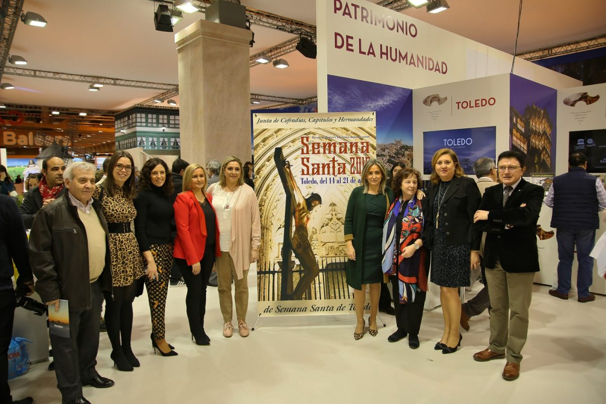 https://www.toledo.es/wp-content/uploads/2019/01/19_fitur-1200x800.jpg. El cartel de la Semana Santa de Toledo, protagonista en FITUR