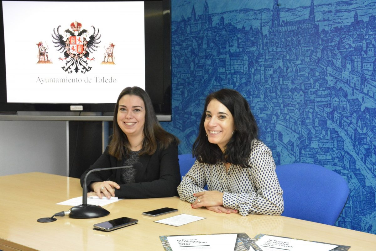 http://www.toledo.es/wp-content/uploads/2019/01/20190114_nuria-cogolludo-y-natalia-munoz-1200x800.jpg. Presentan más de 650 relatos al III Premio Literario Pérez-Taybilí que se entregará el 27 de abril gracias a la colaboración municipal
