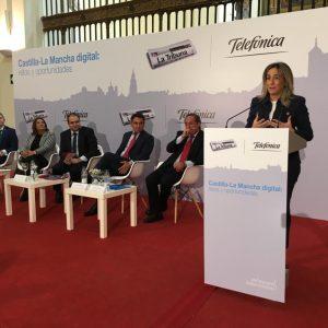 """ilagros Tolón: """"Toledo será referente de la innovación y la tecnología, y en ese futuro estamos caminando todos juntos"""""""