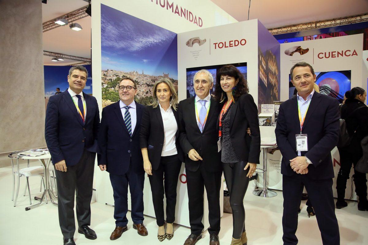 http://www.toledo.es/wp-content/uploads/2019/01/20_fitur_patrimonio-1200x800.jpg. La alcaldesa anuncia en Fitur la adhesión de Toledo a Saborea España para potenciar y promocionar la oferta gastronómica