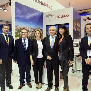 a alcaldesa anuncia en Fitur la adhesión de Toledo a Saborea España para potenciar y promocionar la oferta gastronómica