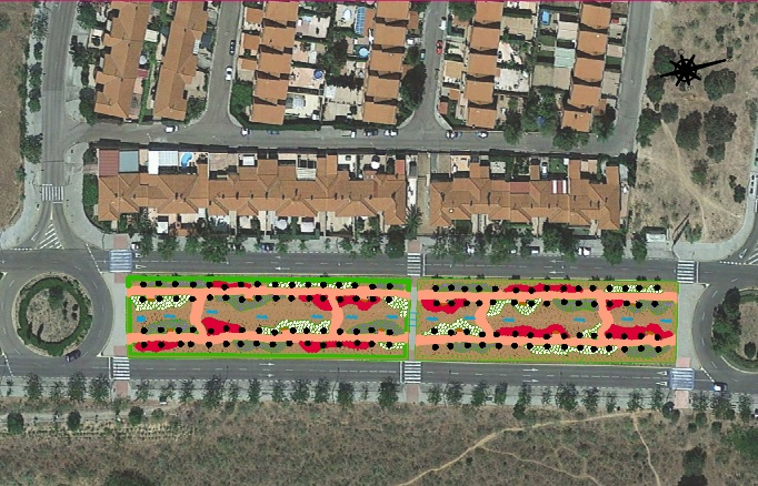 http://www.toledo.es/wp-content/uploads/2019/01/ajardinamiento-madrono.jpg. El Ayuntamiento ampliará la zona de ocio y deporte de Valparaíso con una nueva pista de 'pump truck' en la próxima legislatura