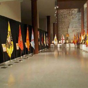 """Exposición temporal """"Banderas históricas de España"""""""