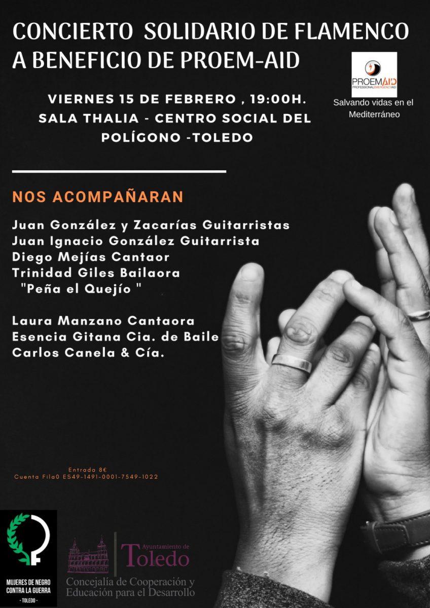 http://www.toledo.es/wp-content/uploads/2019/01/cartel-flamenco-848x1200.jpg. Concierto Solidario de Flamenco a Beneficio de PROEM-AID