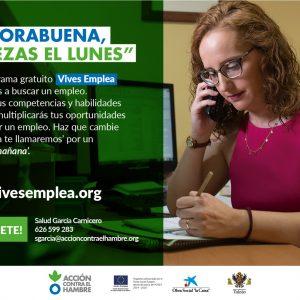 PROYECTO VIVES EMPLEA TOLEDO DE BÚSQUEDA DE EMPLEO EN EQUIPO. SESIONES INFORMATIVAS