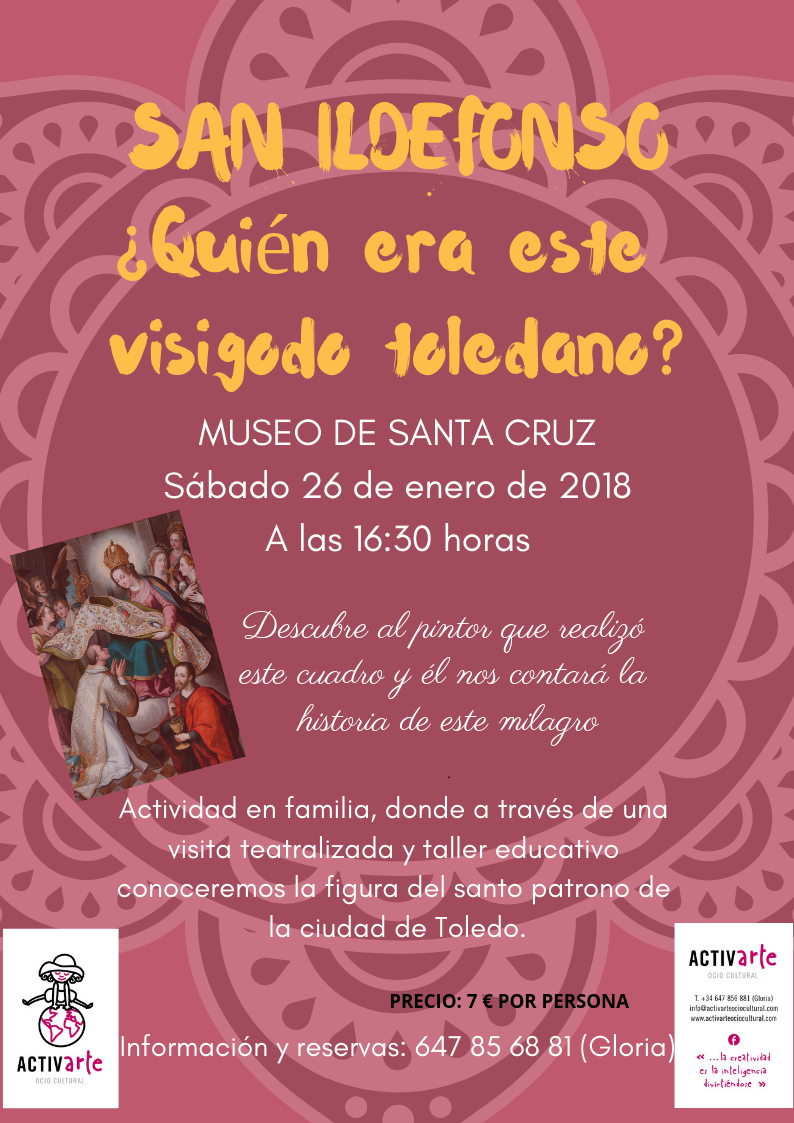 https://www.toledo.es/wp-content/uploads/2019/01/cartel-san-ildefonso.png. San Ildefonso ¿Quién era este visigodo toledano?