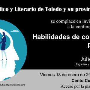 """Conferencia """"HABILIDADES DE COMUNICACIÓN PARA EL ÉXITO"""""""